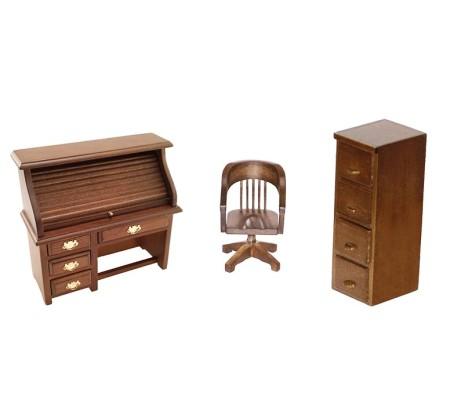 miniature office furniture pm research